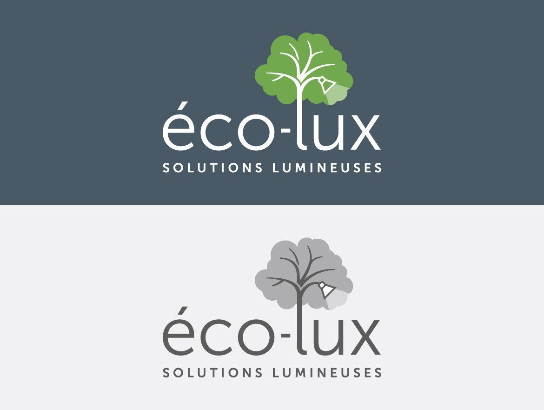 Variations du logo Écolux