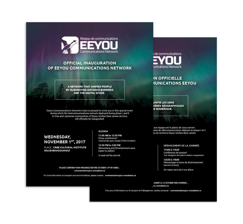 ECN invitation au lancement