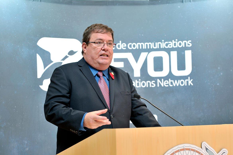 Jean Boucher, député d'Ungava/MNA for Ungava