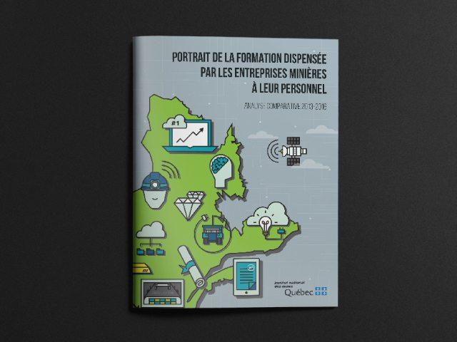 Institut national des mines Québec - Feuillet sur la formation dispensée