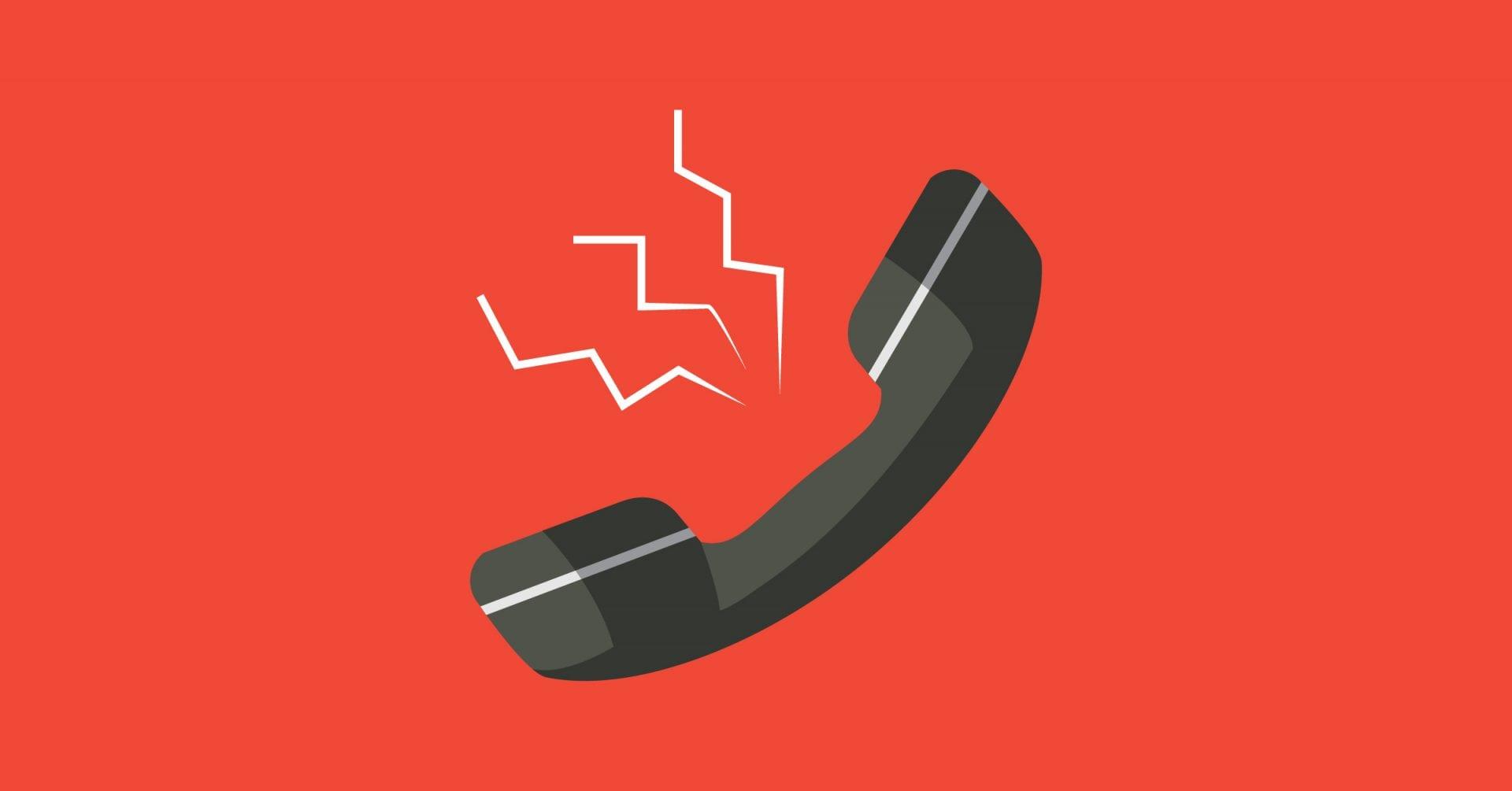 Problème de téléphonie
