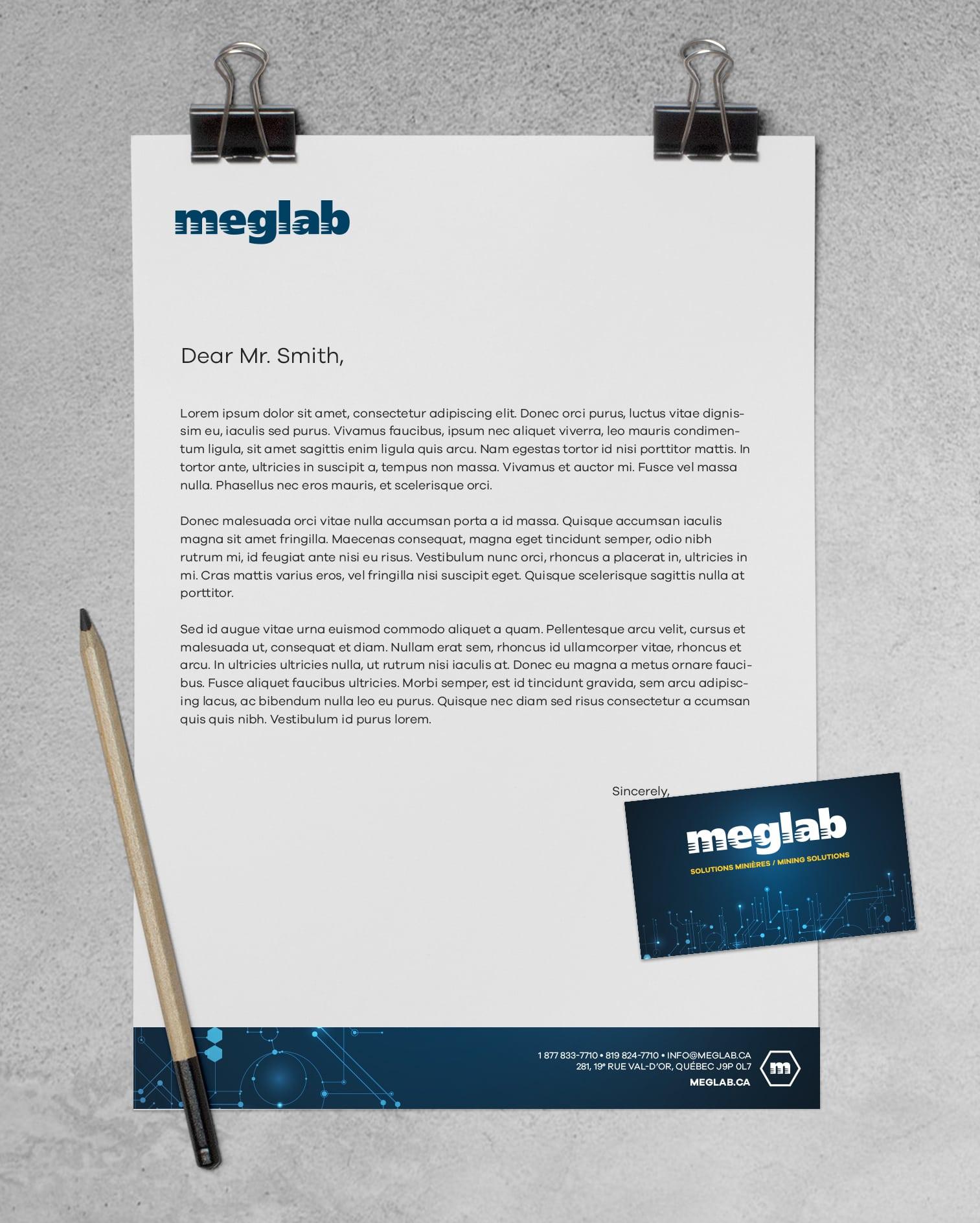 Branding Meglab